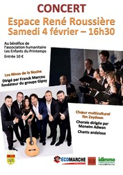 CONCERT GIPSY & CHANTS ANDALOUS