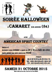 SOIREE HALLOWEEN AVEC CAMARET COUNTRY