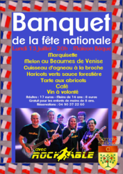 BANQUET DE LA FÊTE NATIONALE