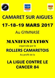 CAMARET UNI CONTRE LE CANCER